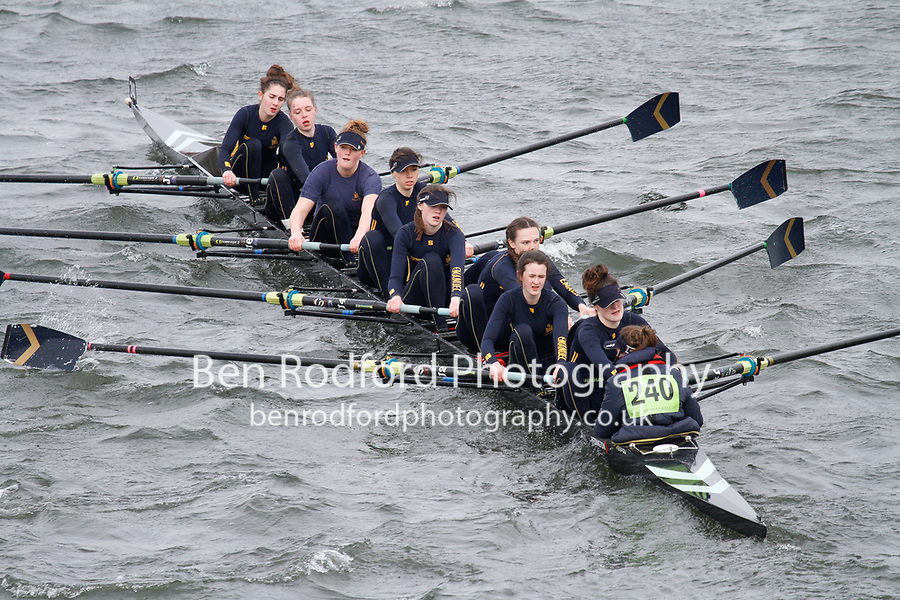 Crew: 240  Emanuel Sch  Event: Girls J16 CHAMP eights<br /> <br /> Schools' Head of the River 2017<br /> <br /> To purchase this photo, or to see pricing information for Prints and Downloads, click the blue 'Add to Cart' button at the top-right of the page.