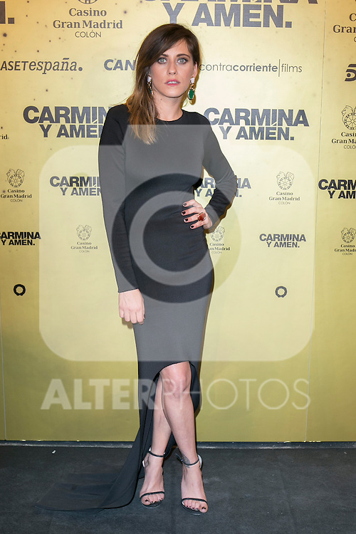 "Spanish Actress Maria Leon attend the Premiere of the movie ""Carmina y Amen"" at the Callao Cinema in Madrid, Spain. April 28, 2014. (ALTERPHOTOS/Carlos Dafonte)"