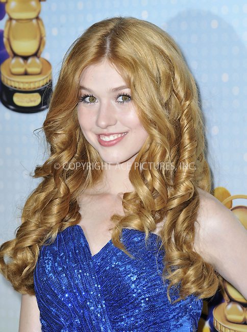 WWW.ACEPIXS.COM....April 27 2013, LA....Katherine McNamara arriving at the 2013 Radio Disney Music Awards at the Nokia Theatre L.A. Live on April 27, 2013 in Los Angeles, California...........By Line: Peter West/ACE Pictures......ACE Pictures, Inc...tel: 646 769 0430..Email: info@acepixs.com..www.acepixs.com