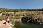 Israel, the Lower Galilee. Ein Ivka in Wadi Zippori
