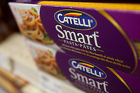 Catelli Spaghetti Smart pasta are seen in a Metro grocery store in Quebec city March 4, 2009. Catelli is a brand owned by H. J. Heinz Company (NYSE: HNZ).