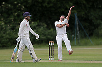 M Akhtar of Ilford during Brentwood CC vs Ilford CC, Shepherd Neame Essex League Cricket at The Old County Ground on 8th June 2019