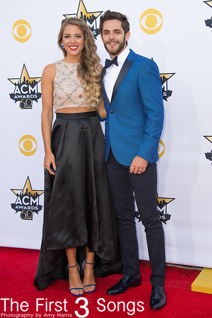Thomas Rhett attends the 50th Academy Of Country Music Awards at AT&T Stadium on April 19, 2015 in Arlington, Texas.