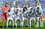 Real Madrid squad poses for photos during the La Liga 2017-18 match between Getafe CF and Real Madrid at Coliseum Alfonso Perez on 14 October 2017 in Getafe, Spain. Photo by Diego Gonzalez / Power Sport Images