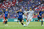 FC Internazionale Midfielder Borja Valero (L) fights for the ball with Chelsea Forward Alvaro Morata (R) during the International Champions Cup 2017 match between FC Internazionale and Chelsea FC on July 29, 2017 in Singapore. Photo by Marcio Rodrigo Machado / Power Sport Images
