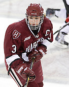 Liza Ryabkina (Harvard - 3) - The Harvard University Crimson defeated the Northeastern University Huskies 4-3 (SO) in the opening round of the Beanpot on Tuesday, February 8, 2011, at Conte Forum in Chestnut Hill, Massachusetts.
