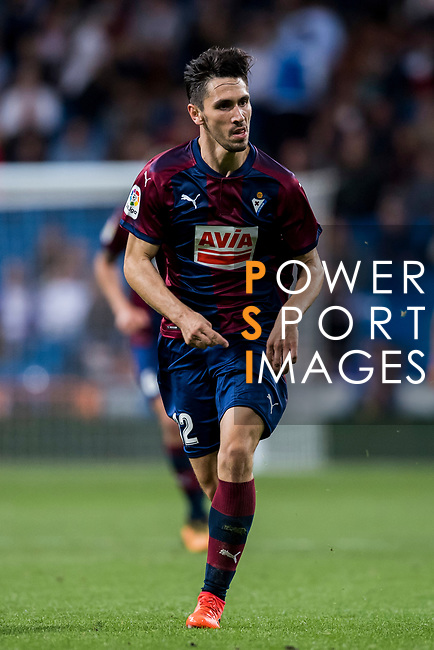Paulo Andre Rodrigues de Oliveira of SD Eibar in action during the La Liga 2017-18 match between Real Madrid and SD Eibar at Estadio Santiago Bernabeu on 22 October 2017 in Madrid, Spain. Photo by Diego Gonzalez / Power Sport Images