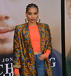 Alexandra Shipp 025 arrives at the Premiere Of Amazon Prime Video's Chasing Happiness at Regency Bruin Theatre on June 03, 2019 in Los Angeles, California.