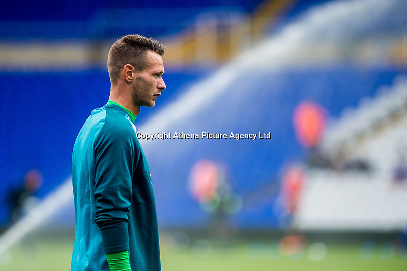 Erwin Mulder looks on during the Pre-season friendly match between Birmingham City and Swansea City at St Andrew's Stadium, Birmingham, England, UK. 29 July 2017