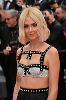 "CANNES, FRANCE. May 21, 2019: Chiara Ferragni at the gala premiere for ""Once Upon a Time in Hollywood"" at the Festival de Cannes.<br /> Picture: Paul Smith / Featureflash"