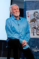 """20 March 2020 - Kenny Rogers, whose legendary music career spanned nearly six decades, has died at the age of 81. Rogers was inducted to the Country Music Hall of Fame in 2013."""" He had 24 No. 1 hits and through his career more than 50 million albums sold in the US alone. He was a six-time Country Music Awards winner and three-time Grammy Award winner. Some of his hits included """"Lady,"""" """"Lucille,"""" """"We've Got Tonight,"""" """"Islands In The Stream,"""" and """"Through the Years."""" His 1978 song """"The Gambler"""" inspired multiple TV movies, with Rogers as the main character. File Photo: 18 July 2017 - Nashville, Tennessee - Kenny Rogers. """"All in for the Gambler: Kenny Rogers Farewell Concert Celebration"""" Announcement. The event taping will be held at Bridgestone Arena on October 25, 2017 and feature a star-studded line-up that will honor Kenny Rogers' historic 60-year career. The highlight will be the final performance by Kenny Rogers and Dolly Parton. Photo Credit: Dara-Michelle Farr/AdMedia"""