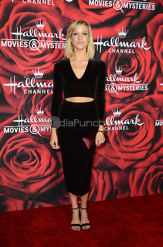 PASADENA. CA - JANUARY 14: Jessy Schram at the Hallmark Winter 2017 TCA Event at Tournament House in Pasadena, California on January 14, 2017. Credit: David Edwards/MediaPunch