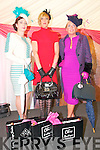Ladies Day Listowel Races : The three finalists in the Best Dressed lady competition at Listowel Races on Friday werreMiriam O'Connor, Mary Houlihan & Sharon Heffernan. The competition was won by Sharon Heffernan.