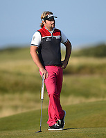 Victor Dubuisson of France looks on during Round 3 of the 2015 Alfred Dunhill Links Championship at the Old Course, St Andrews, in Fife, Scotland on 3/10/15.<br /> Picture: Richard Martin-Roberts | Golffile