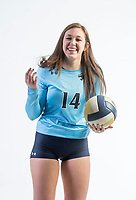 NWA Democrat-Gazette/BEN GOFF @NWABENGOFF<br /> Natalie Williams of Springdale Har-Ber, Volleyball Newcomer of the Year, poses for a photo Wednesday, Nov. 29, 2017 at the NWA Democrat-Gazette office in Springdale.