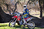 CJ Shade poses for a portrait at the end of riding hours at Zaca Station off of HWY 101 in Los Olivos, California, on Saturday January 19, 2013.