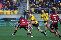 Hurricanes' James Blackwell in action during the Super Rugby Aotearoa match between the Hurricanes and Crusaders at Sky Stadium in Wellington, New Zealand on Saturday, 21 June 2020. Photo: Dave Lintott / lintottphoto.co.nz