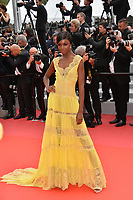 Leomie Anderson at the gala screening for &quot;Yomeddine&quot; at the 71st Festival de Cannes, Cannes, France 09 May 2018<br /> Picture: Paul Smith/Featureflash/SilverHub 0208 004 5359 sales@silverhubmedia.com
