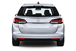 Straight rear view of 2016 Opel Astra Innovation 5 Door Wagon Rear View  stock images