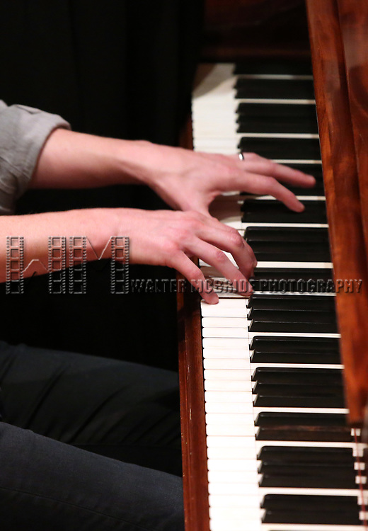 Kyle Jarrow performs at the DGF Salon with Kyle Jarrow on November 1, 2018 at The Uterbetg Residence in New York City.