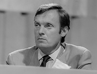 John MacDonald, QC, PPC, Liberal Party, UK, September 1982, 198210000270D<br /> <br /> Copyright Image from Victor Patterson, 54 Dorchester Park, <br /> Belfast, UK, BT9 6RJ<br /> <br /> t1: +44 28 9066 1296 (from Rep of Ireland 048 9066 1296)<br /> t2: +44 28 9002 2446 (from Rep of Ireland 048 9002 2446)<br /> m: +44 7802 353836<br /> <br /> victorpatterson@me.com<br /> www.victorpatterson.com<br /> <br /> Please see my Terms and Conditions of Use at VICTORPATTERSON.COM. It is IMPORTANT that you familiarise yourself with them.<br /> <br /> Images used on the Internet must be visibly watermarked i.e. &copy;VICTORPATTERSON.COM within the body of the image and copyright metadata must not be deleted. Images used on the Internet have a size restriction of 4kbs and are chargeable at the then current NUJ rates.<br /> <br /> This image is only available for the use of the download recipient i.e. television station, newspaper, magazine, book publisher, etc, and must not be passed on to any third party. It is also downloaded on condition that each and every usage is notified within 7 days to victorpatterson@me.com<br /> <br /> The right of Victor Patterson to be identified as the author is asserted in accordance with The Copyright Designs And Patents Act (1988).