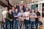 Killarney Town Darts League- Jeremy O'Neill Perceptual Cup Final Tatlet Jack vs Club Bar Kilcummin in the Killarney Avenue Hotel last Friday.