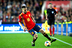 Spain's Jordi Alba  during the qualifying match for Euro 2020 on 23th March, 2019 in Valencia, Spain. (ALTERPHOTOS/Alconada)