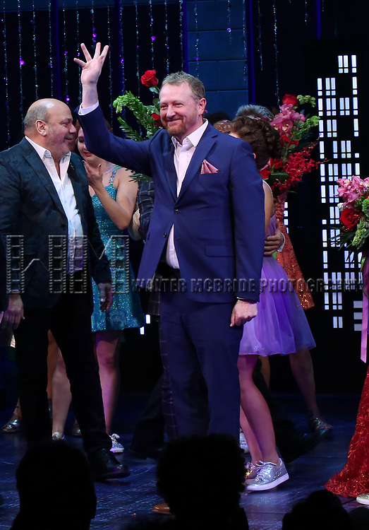 "Rob Martin during the Broadway Opening Night Curtain Call of ""The Prom"" at The Longacre Theatre on November 15, 2018 in New York City."