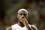 USA's LeBron James during friendly match.July 24,2012. (ALTERPHOTOS/Acero)