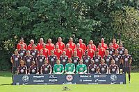 15.07.2015: Eintracht Frankfurt Mannschaftsfoto