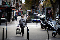 Paris, France, 15.11.2015. Most people stayed inddors the days after the attacks. Images from Paris in the aftermath of the devastating terror attacks on friday november 13. Photo: Christopher Olssøn.