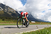 Picture by Alex Whitehead/SWpix.com - 24/09/2018 - Cycling 2018 Road Cycling World Championships Innsbruck-Tiriol, Austria - Junior Men's Individual Time Trial - Afonso Silva of Portugal.