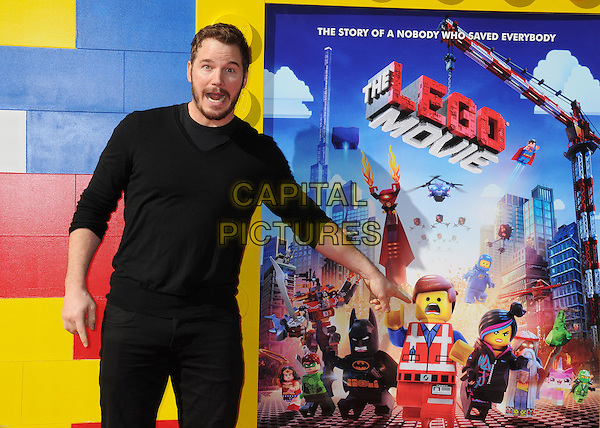 1 February 2014 - Westwood, California - Chris Platt. &quot;The Lego Movie&quot; Los Angeles Premiere held at the Regency Village Theater.  <br /> CAP/ADM/BP<br /> &copy;Byron Purvis/AdMedia/Capital Pictures