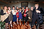 The 'Lovley Ladies Group' enjoying a Christmas party night out inthe Sea Lodge Waterville on Saturday pictured here l-r; Wendy Donnelly, Niamh O'Shea, Joan Breen, Aileen O'Donoghue, Marjanneke van der Hove, Mo Stafford, Colette O'Donoghue, Kay O'Connor & Breda O'Sullivan.