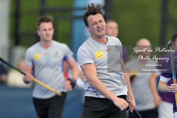 TORRY George (Sevenoaks) is dissappointed after his shot misses. Durham University v Sevenoaks. Playoffs 4. Men's Hockey League Promotion Tournament. Investec Women's League Finals. Lee Valley Hockey & Tennis Centre, London E20 3AD 22/04/2017. ~ MANDATORY CREDIT Garry Bowden/SIPPA - NO UNAUTHORISED USE - +44 7837 394578