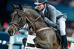 Philipp Weishaupt of Germany riding Souvenir in action at the Gucci Gold Cup during the Longines Hong Kong Masters 2015 at the AsiaWorld Expo on 14 February 2015 in Hong Kong, China. Photo by Xaume Olleros / Power Sport Images