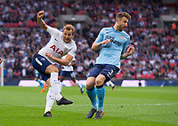 Tottenham's Harry Kane during the EPL - Premier League match between Tottenham Hotspur and Newcastle United at Wembley Stadium, London, England on 9 May 2018. Photo by Andrew Aleksiejczuk / PRiME Media Images.