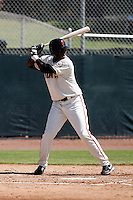 Jose De La Cruz - San Francisco Giants 2009 Instructional League. .Photo by:  Bill Mitchell/Four Seam Images..