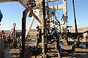 Iraq 2008.Workers in the refinery of Germian, built by the Canadians    <br /> Irak 2008. Ouvriers de la raffinerie de Germian contruite par les Canadiens Iraq