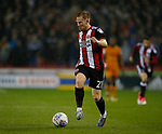 Mark Duffy of Sheffield Utd during the Championship match at the Bramall Lane Stadium, Sheffield. Picture date 27th September 2017. Picture credit should read: Simon Bellis/Sportimage