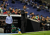 30th October 2017, Cornella-El Prat, Cornella de Llobregat, Barcelona, Spain; La Liga football, Espanyol versus Real Betis; Quique Sanchez Flores of Espanyol giving instructions