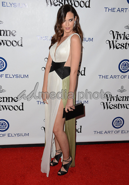 09 January  - Los Angeles, Ca - Odette Annable. Arrivals for The Art of Elysium's Presents Vivienne Westwood & Andreas Kronthaler's 2016 HEAVEN Gala held at 3Labs. Photo Credit: Birdie Thompson/AdMedia