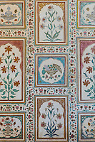 Islamic design of Ganesh Pol, Ganesh Gate, 16th Century The Amber Fort a Rajput fort in Jaipur, Rajasthan, India