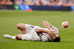 Real Madrid's Alvaro Morata during La Liga match between Real Madrid and Sevilla FC at Santiago Bernabeu Stadium in Madrid, May 14, 2017. Spain.<br /> (ALTERPHOTOS/BorjaB.Hojas)
