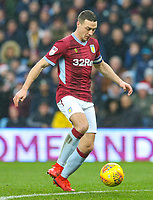 Aston Villa's James Chester<br /> <br /> Photographer Alex Dodd/CameraSport<br /> <br /> The EFL Sky Bet Championship - Aston Villa v Leeds United - Sunday 23rd December 2018 - Villa Park - Birmingham<br /> <br /> World Copyright &copy; 2018 CameraSport. All rights reserved. 43 Linden Ave. Countesthorpe. Leicester. England. LE8 5PG - Tel: +44 (0) 116 277 4147 - admin@camerasport.com - www.camerasport.com