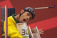 SÃO PAULO,SP, 24.03.2017 - PARAPAN-JUVENTUDE - Bocha - BC3 - Semi Final - Lucas Araujo Ferreira (BRA) x Juan Daniel Mendoza (COL) no CT Paralímpico Brasileiro, no Parapan da Juventude em São Paulo nesta sexta-feira, 24.(Foto: Danilo Fernandes/Brazil Photo Press)