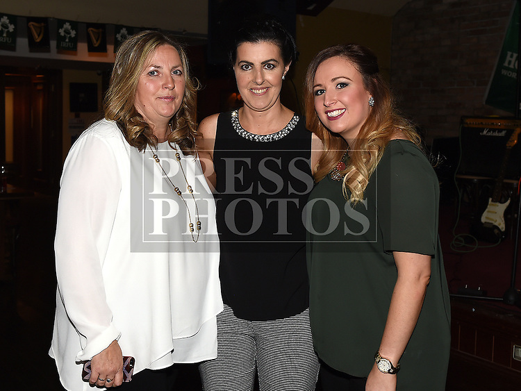 Margaret Tuite celebrating her 40th birthday in The Venue at McHugh's with her sisters Siobhan Leddy and Grace Guildea. Photo:Colin Bell/pressphotos.ie