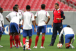 10 March 2008: Panama head coach Alexandre Guimaraes (BRA). The Panama U-23 Men's National Team practiced at Raymond James Stadium in Tampa, FL in preparation for playing in the 2008 CONCACAF's Men's Olympic Qualifying Tournament.