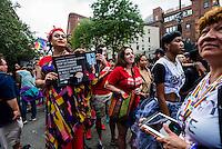 New York, NY- Gay Pride Parade in the West VIllage