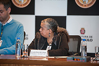 SÃO PAULO,SP, 13.06.2017 - PARADA-SP - A presidente a APOLGBT_SP Claudia Regina, durante coletiva de imprensa da Parada do Orgulho LGBT na sede da Prefeitura de São Paulo nesta terça-feira, 13. (Foto: Rogério Gomes/Brazil Photo Press)